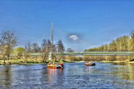 Pomiechówek Atrakcja Spływ pontonowy Everal